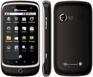 Micromax A70 Android mobile