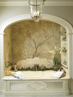 To da loos 8 elegant bathtub alcoves for Master bathroom garden tub
