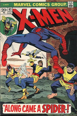 X-Men #83, Spider-Man
