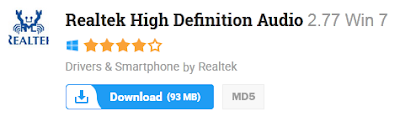 Realtek High Definition Audio 2.77 Win 7 Free Download