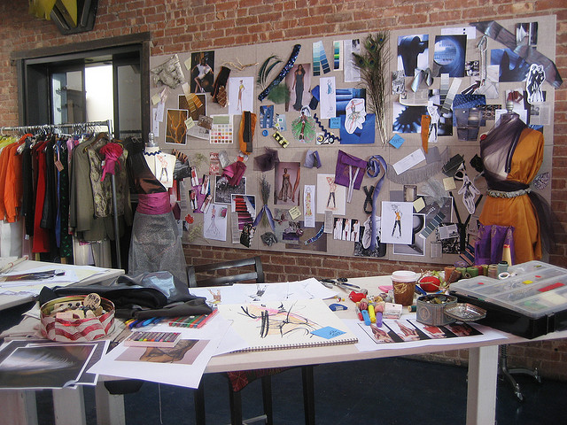 Creative studios workspaces fashion studio for Fashion design agency