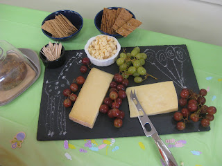 Baby Shower Cheese Board