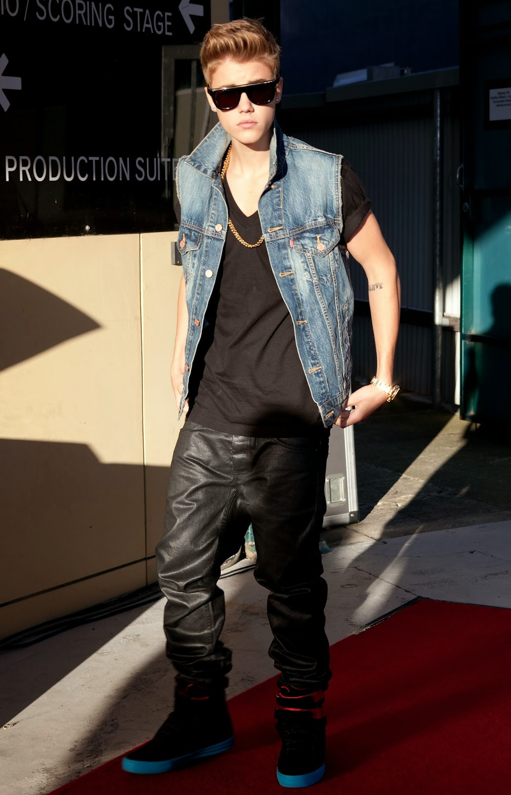 fashion inspiration from justin bieber bio street