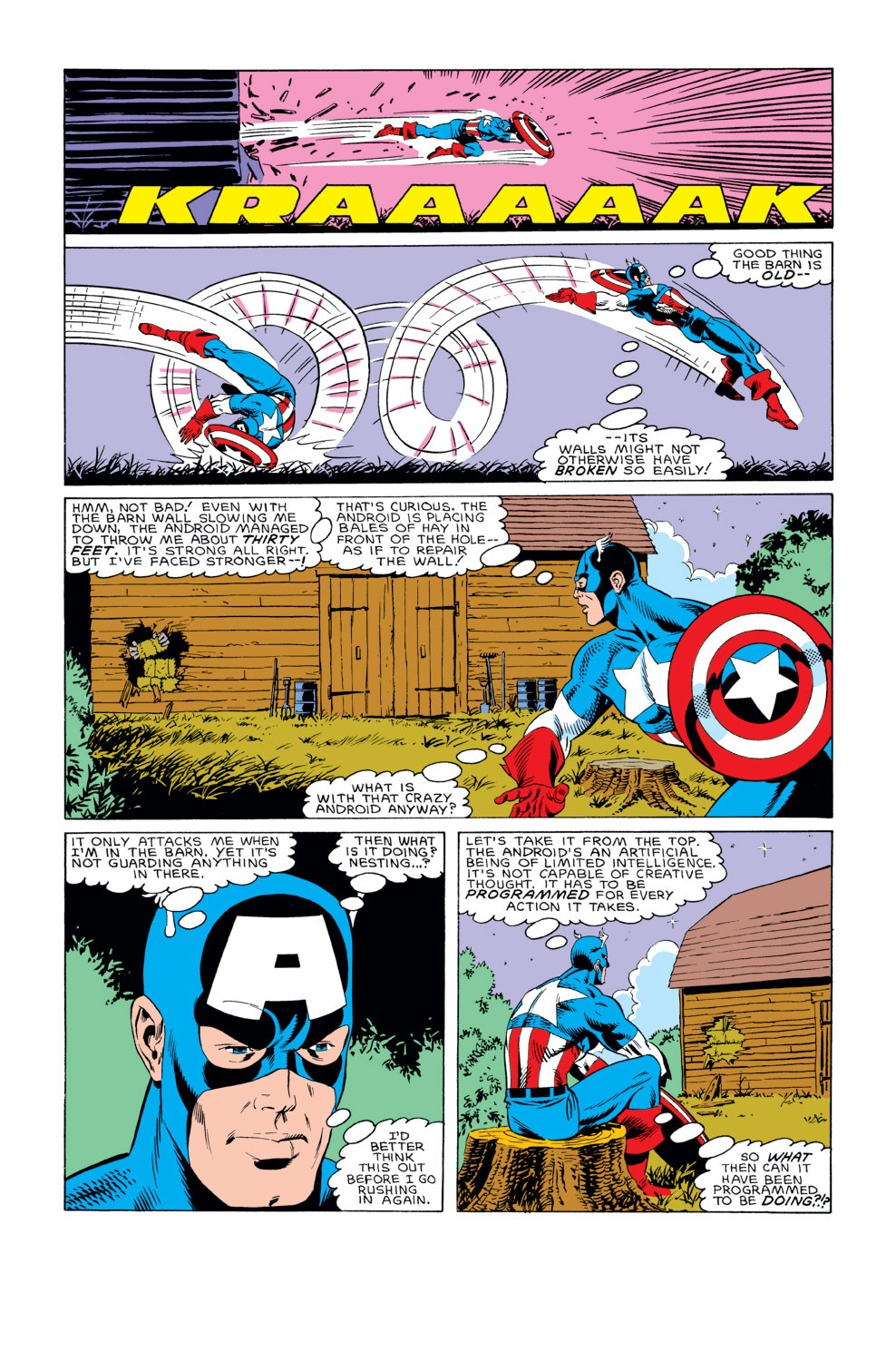 Captain America (1968) Issue #311 #239 - English 20