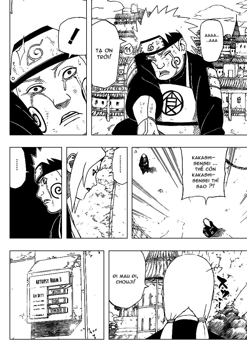 Naruto chap 427 Trang 10 - Mangak.info