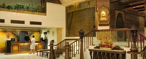 Front Hall of Hotel Maharaja Tandean Jakarta