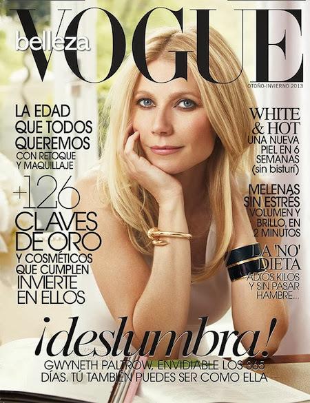 Fashion Editorial | Gwyneth Paltrow for Vogue Spain