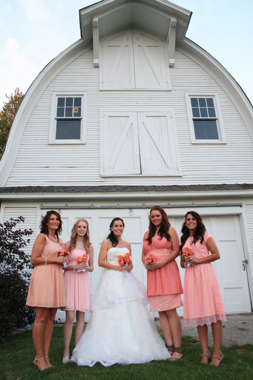 we were able to have a photo session at a beautiful white barn nearby