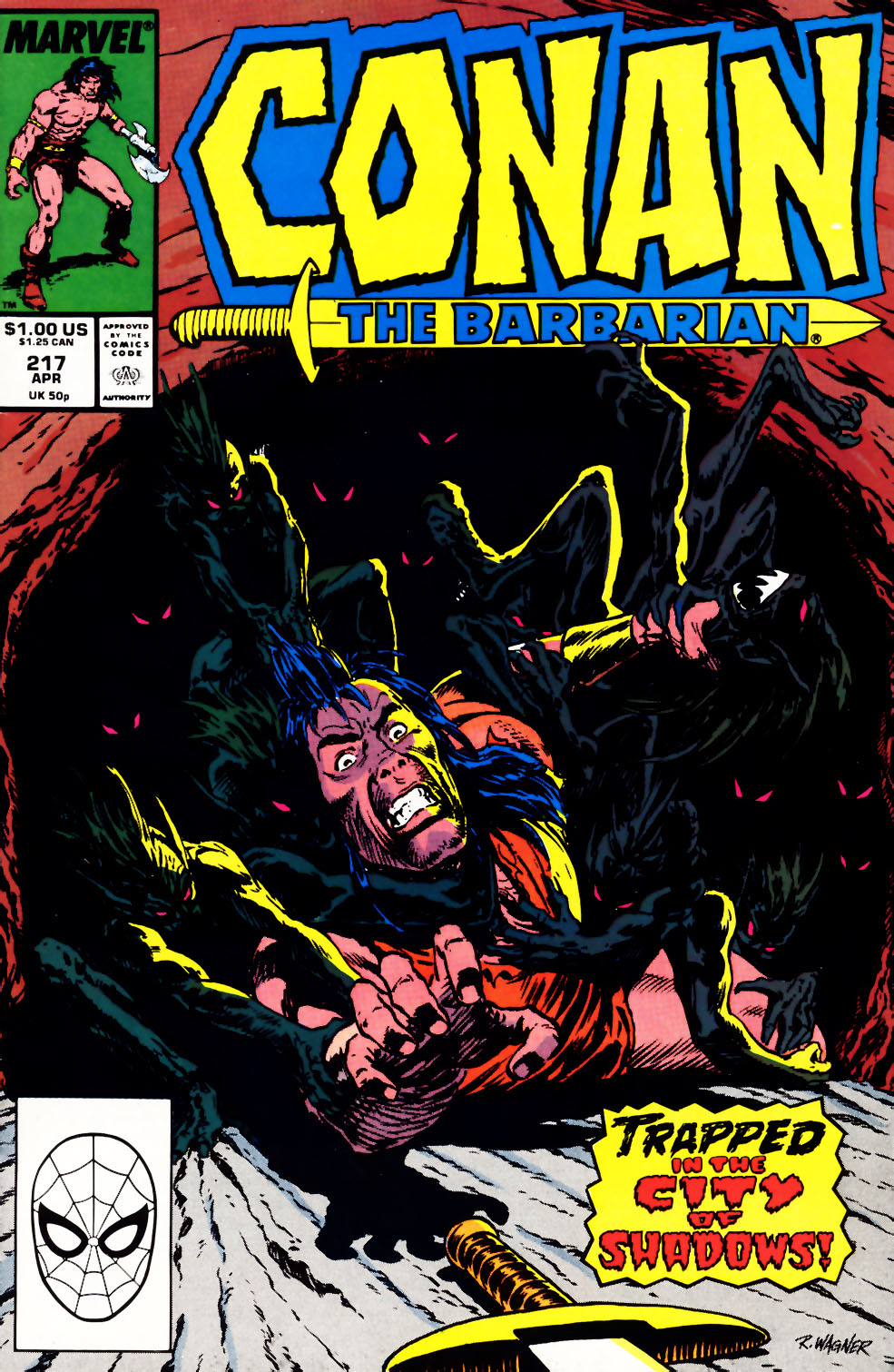 Conan the Barbarian (1970) Issue #217 #229 - English 1