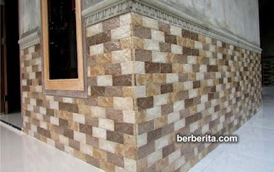 keramik batu alam dinding