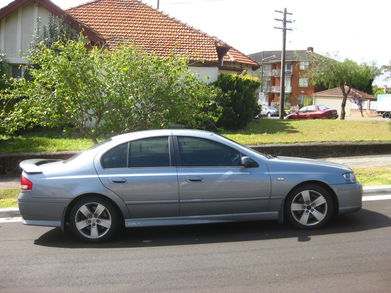 Aussie Old Parked Cars  2005 Ford Ba Falcon Xr6 Turbo