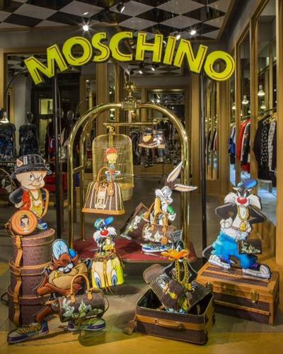 Moschino colección Otoño Invierno 2015-2016 Looney Tunes