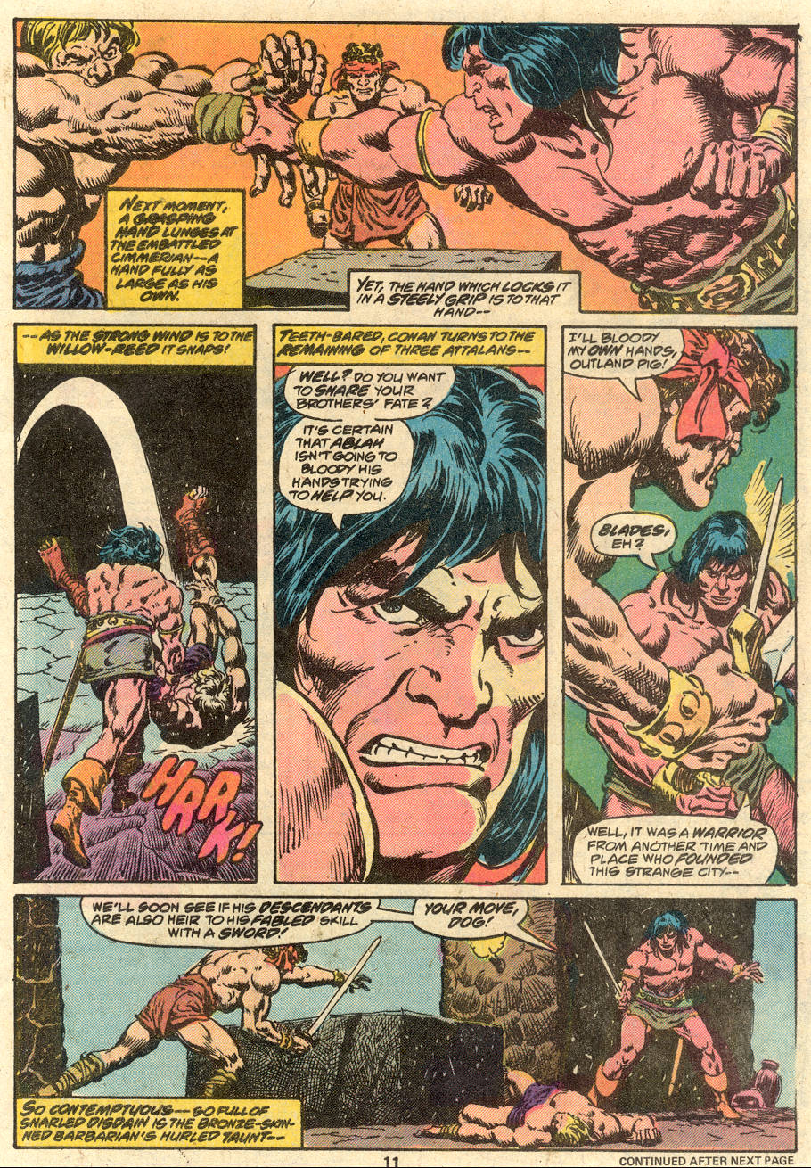 Conan the Barbarian (1970) Issue #80 #92 - English 8
