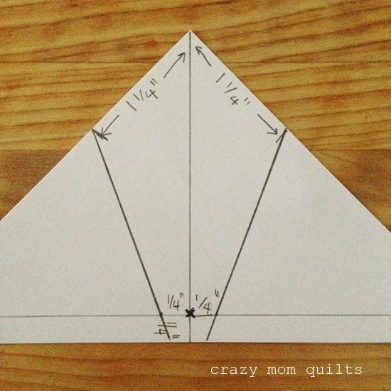 crazy mom quilts mini spiderweb measurements. Black Bedroom Furniture Sets. Home Design Ideas