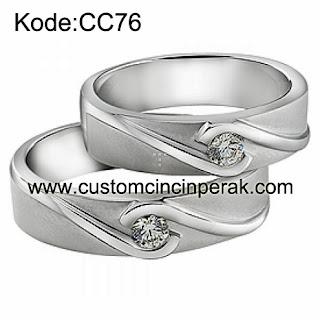 Cincin Pasangan Perak