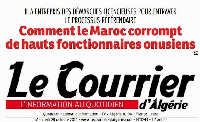 Comment le Maroc corrompt des hauts-fonctionnaires onusiens