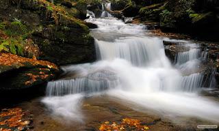 foto keindahan alam air terjun
