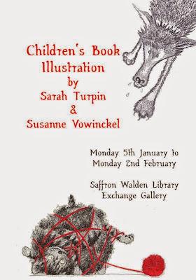 Sarah Turpin & Susanne Vowinckel Exhibition Poster