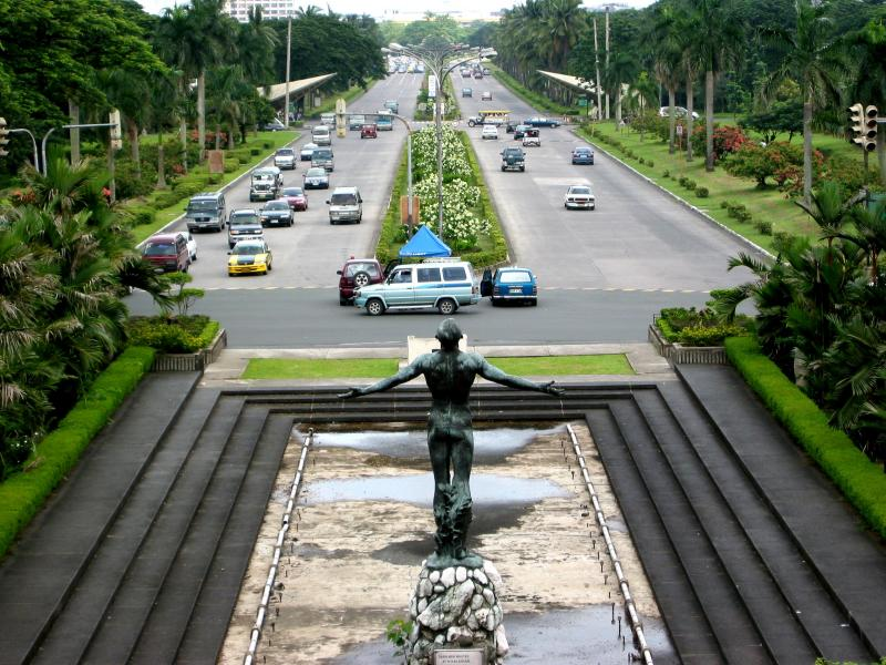 Photo: University of the Philippines- Diliman campus