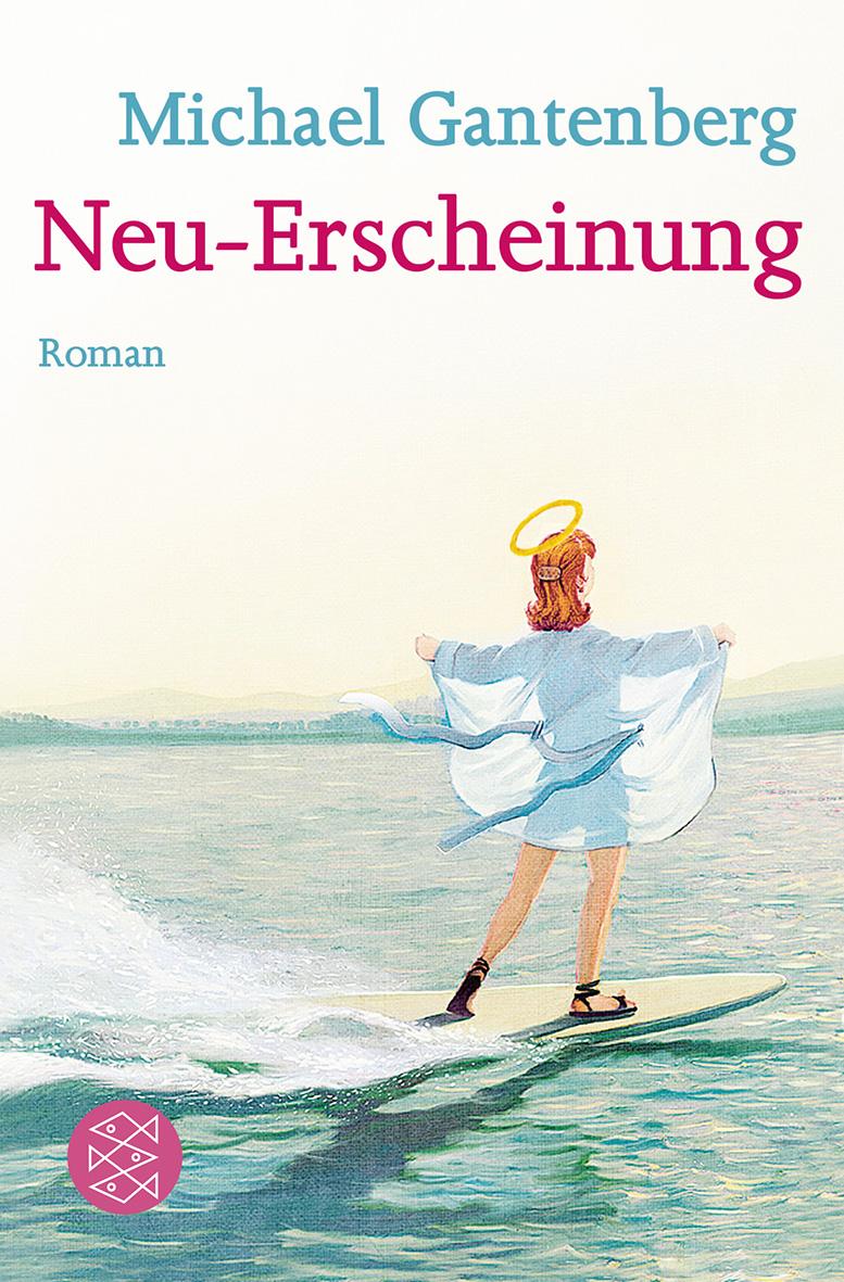 Cover abbildung für Michael Gantenberg´s Buch Neu-Erscheinung - Mit freundlicehr genehmigung von Gerhard Haderer wurde aus dem Jesus auf dem Surfbrett eine Jesurette, der Stil wurde dem von Haderer nachempfunden