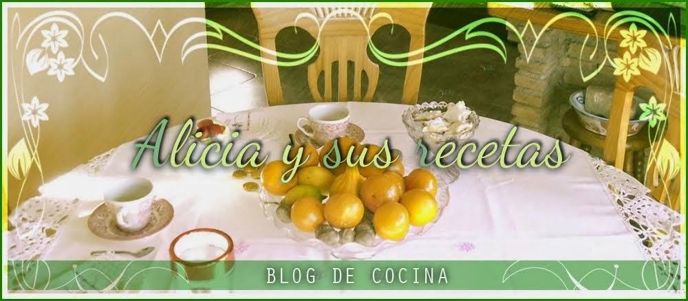 Blog de cocina: Alicia y sus Recetas