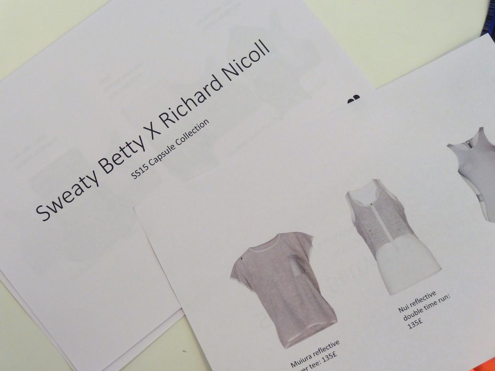 Sweaty Betty x Richard Nicoll Collection