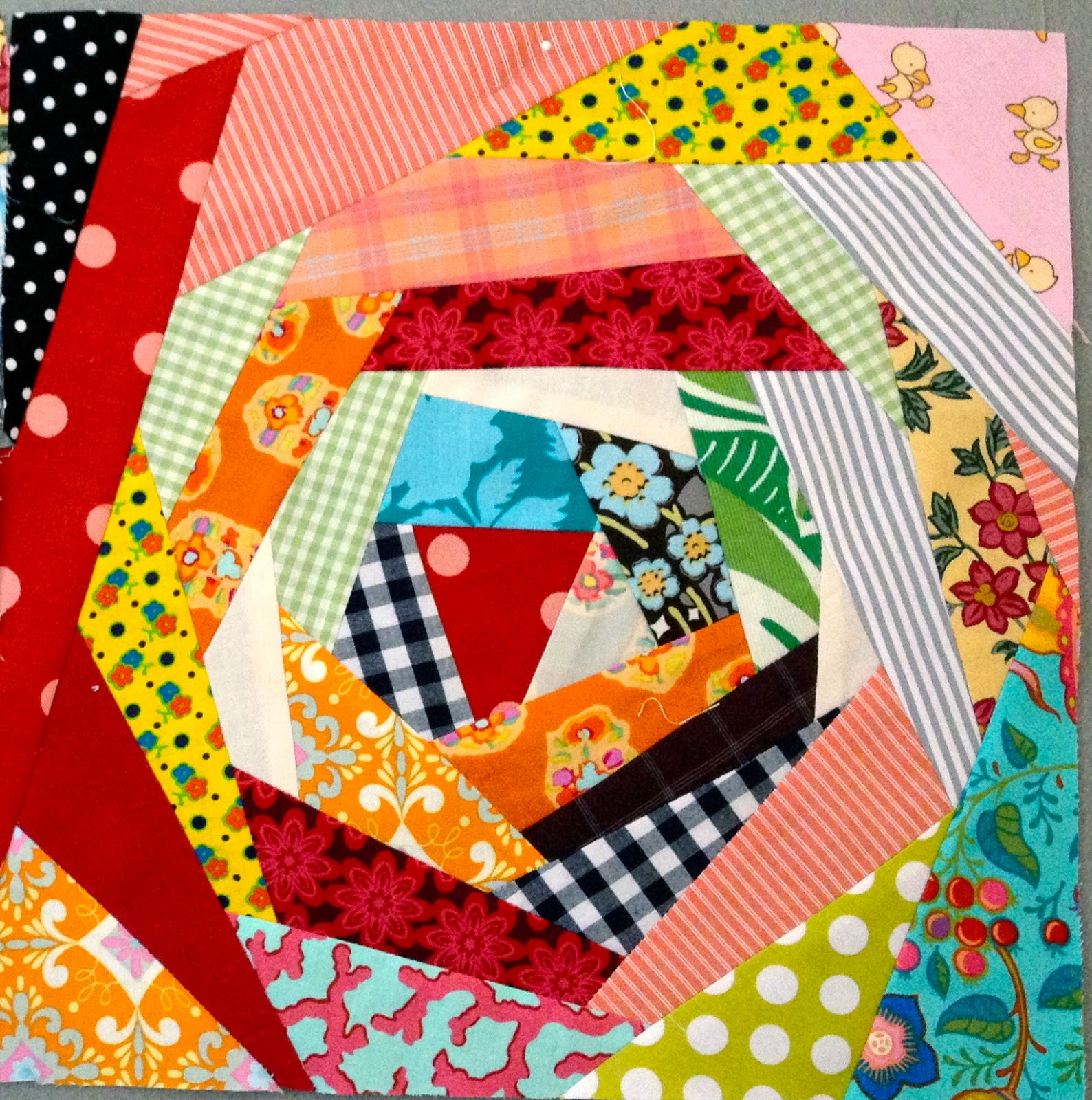 Nifty quilts a finish a start and a ribbon for Scrap quilt