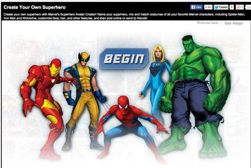 - Creador de superhéroes