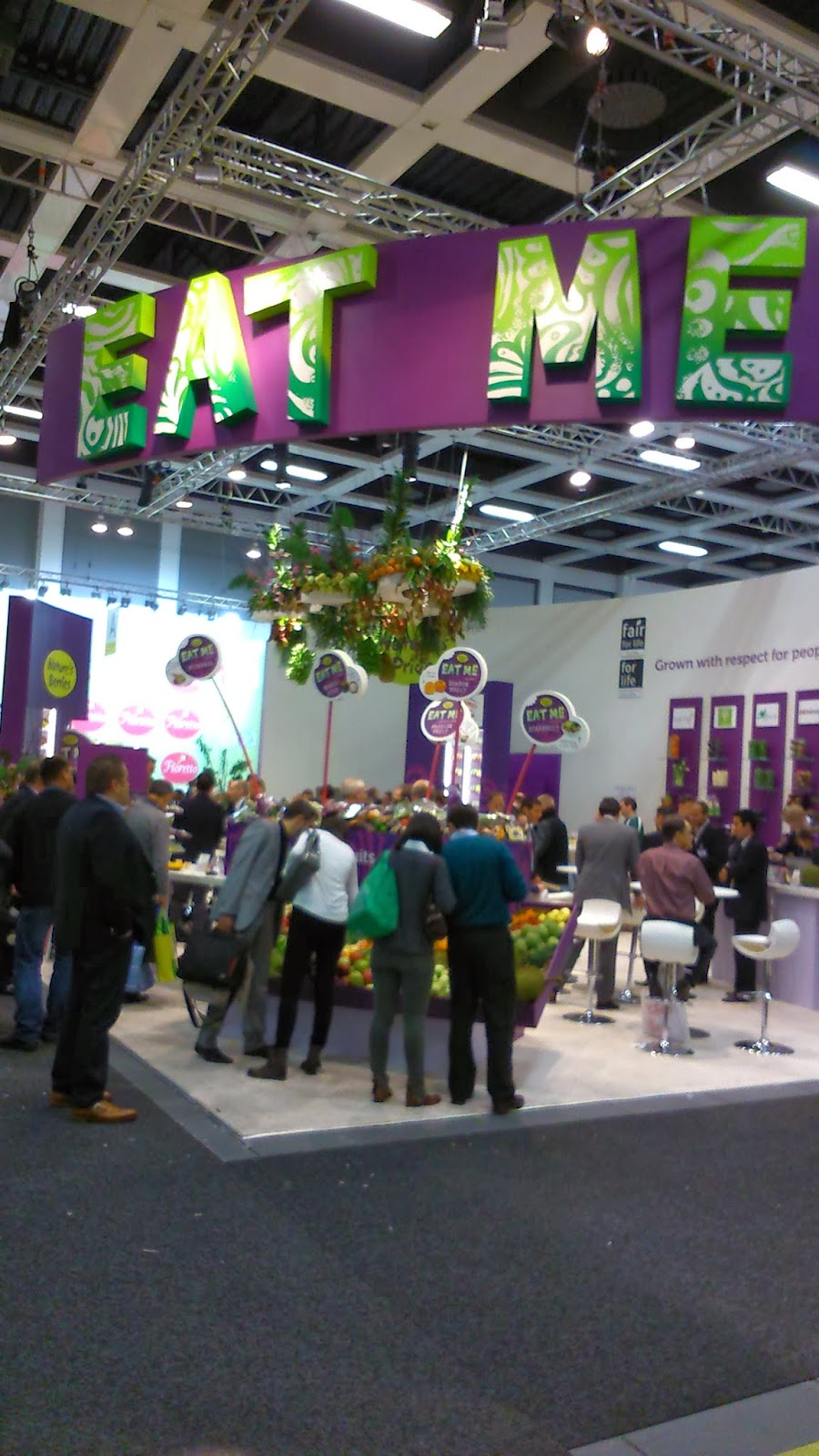 Eat me, fruit logistica 2014