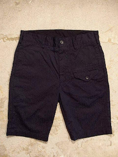 "Engineered Garments ""Ghurka Short in Dk.Navy Floral Jacquard Twill"" Spring/Summer 2015 SUNRISE MARKET"