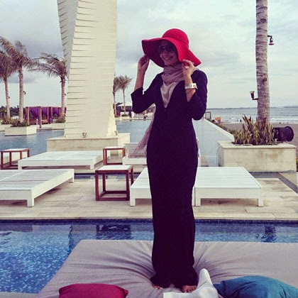 hijab ala zaskia