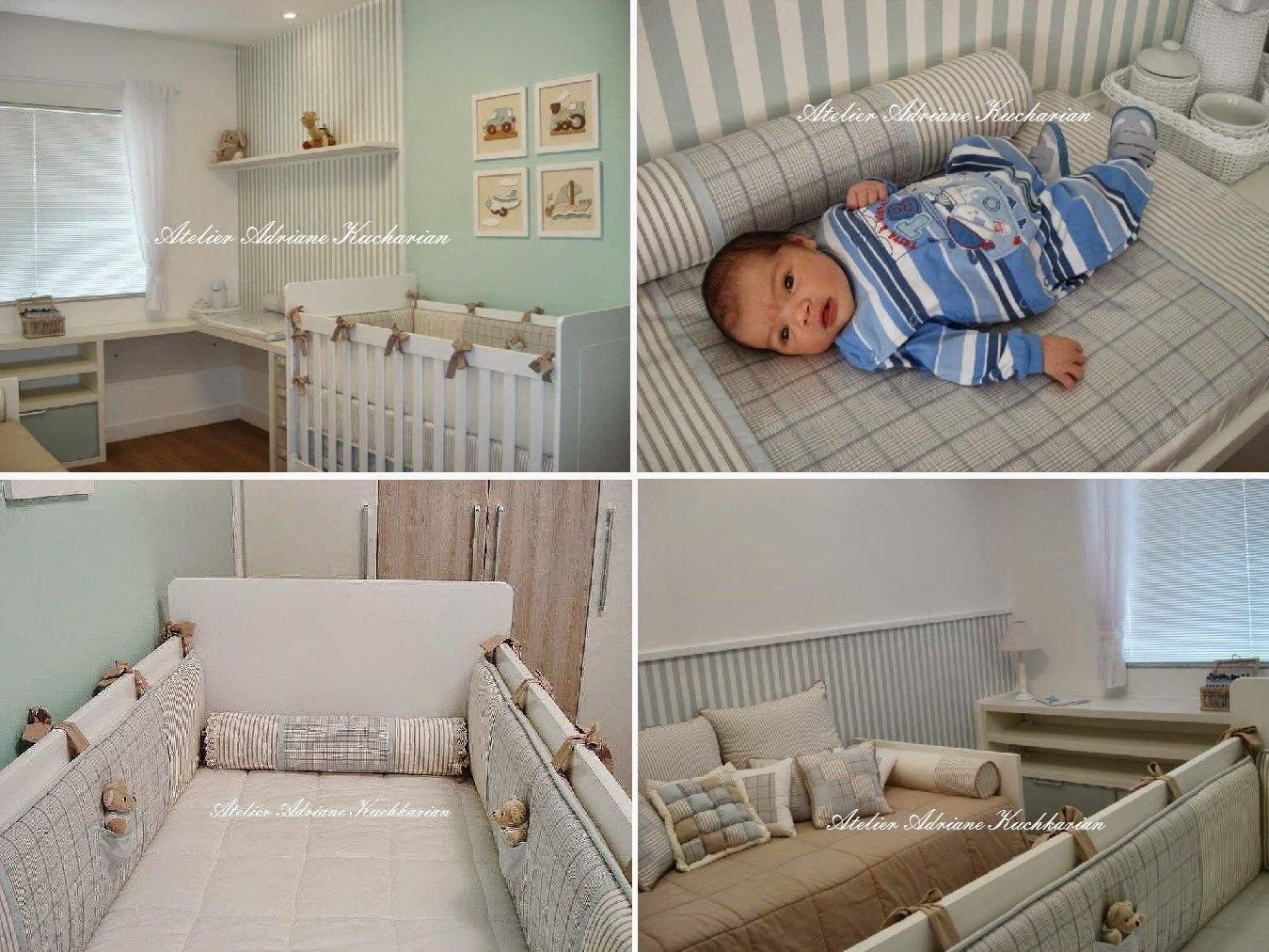 Atelier Adriane Kuchkarian Projetos e decoração personalizada  Quartos de bebê