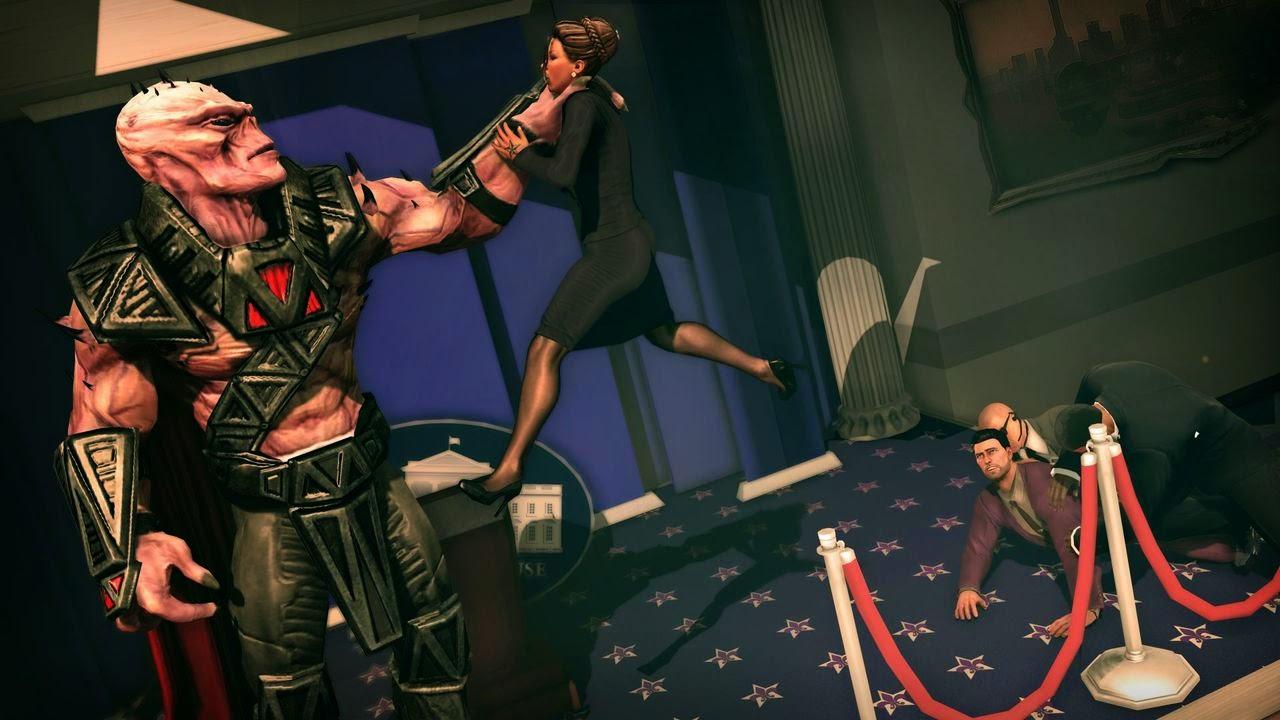 Saints Row IV gameplay