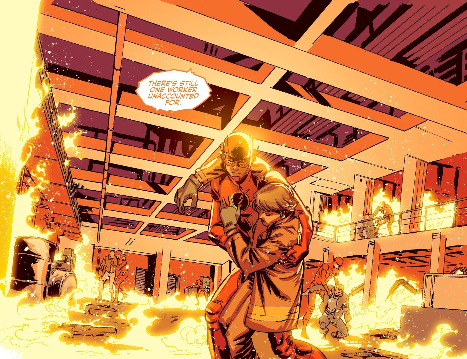 The Flash: Season Zero [I] Issue #20 #20 - English 17