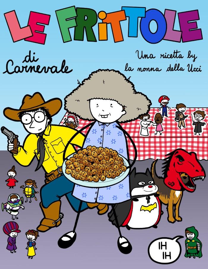 le frittole di carnevale - copertina