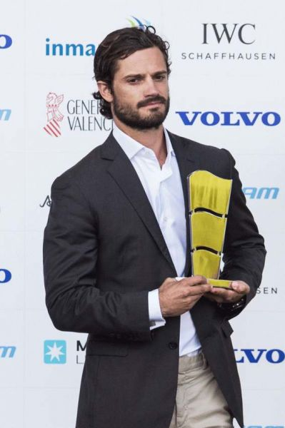 VNR - H.R.H. Prince Carl Philip attends Volvo Ocean Race start in Alicante