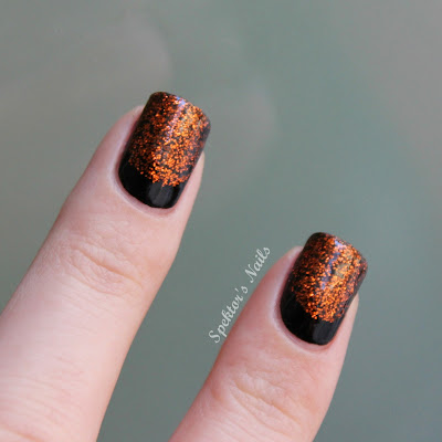 Halloween Ruffian Nails China Glaze Ick-A-Bod-Y