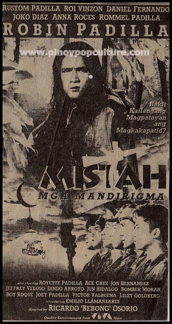 Mistah, Padilla brothers, movie poster