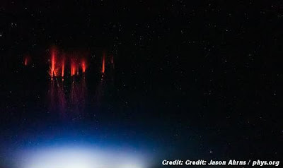 Is it a UFO? Strange lights in the sky are being closely watched by atmospheric scientists