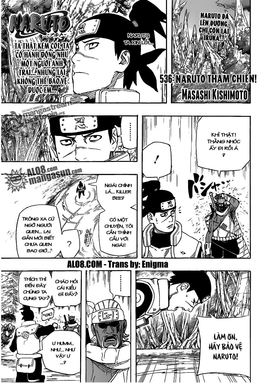 Naruto chap 536 Trang 1 - Mangak.info