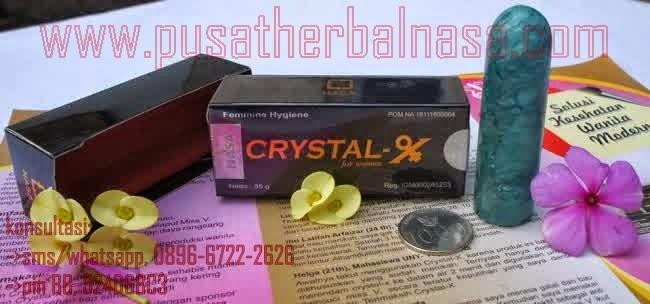 Mengatasi keputihan Dengan Crystal X