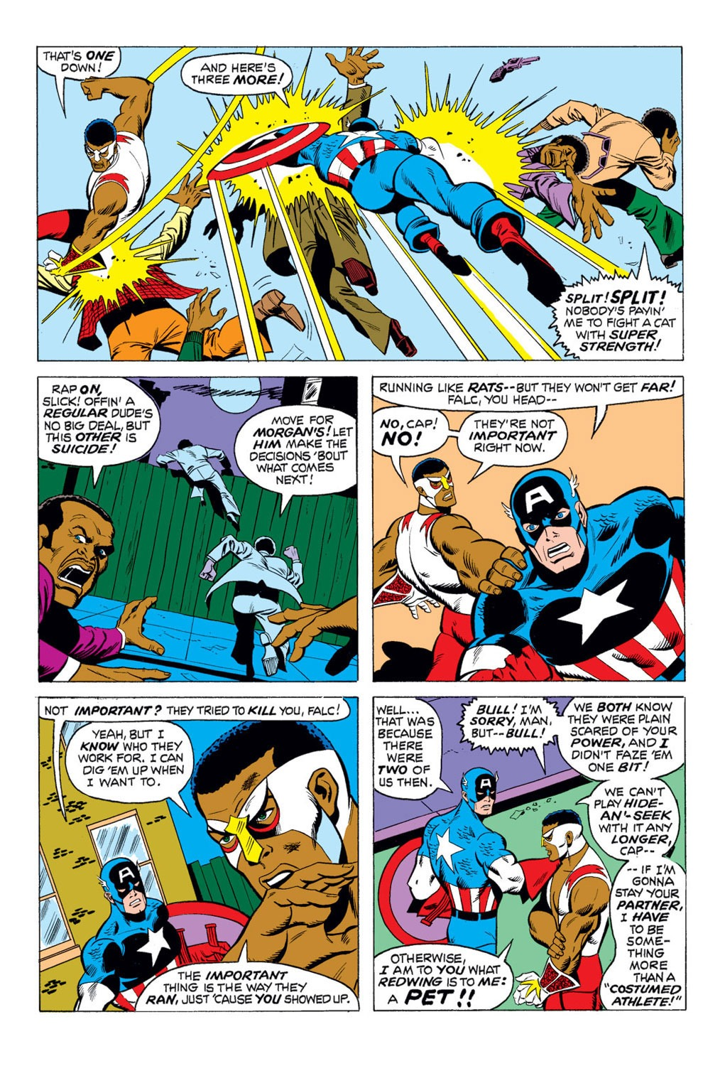 Captain America (1968) Issue #169 #83 - English 6