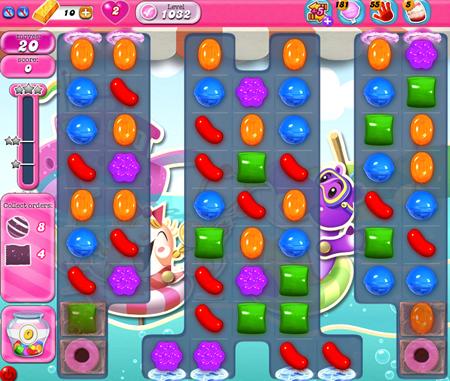 Candy Crush Saga 1017