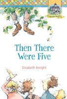 Cover art, Then There Were Five by Elizabeth Enright