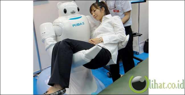 Robot Beruang Riba