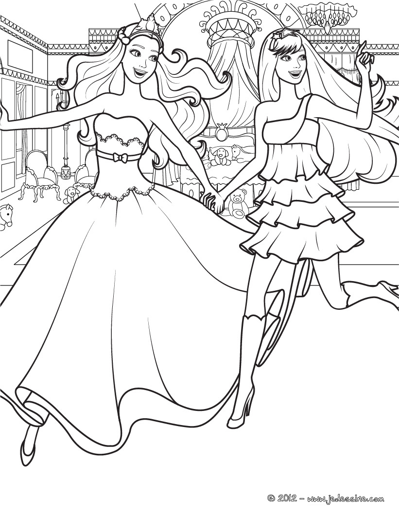 Barbie en la Princesa y la Cantante: Nuevas paginas para ...