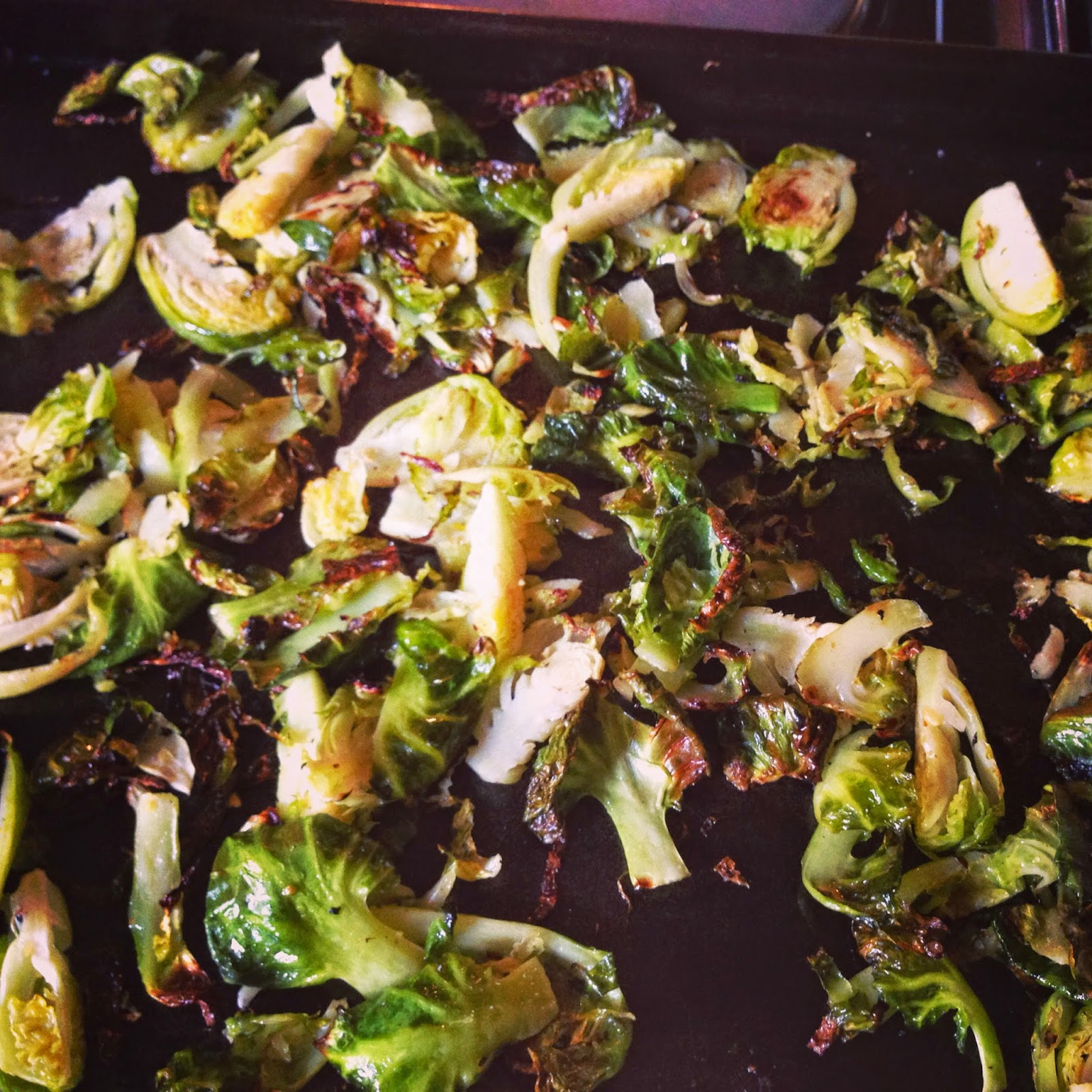 Brussels sprouts are hydrophilic foods. Try roasting them in the oven.
