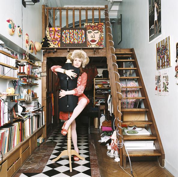 piso parís lleno de libros