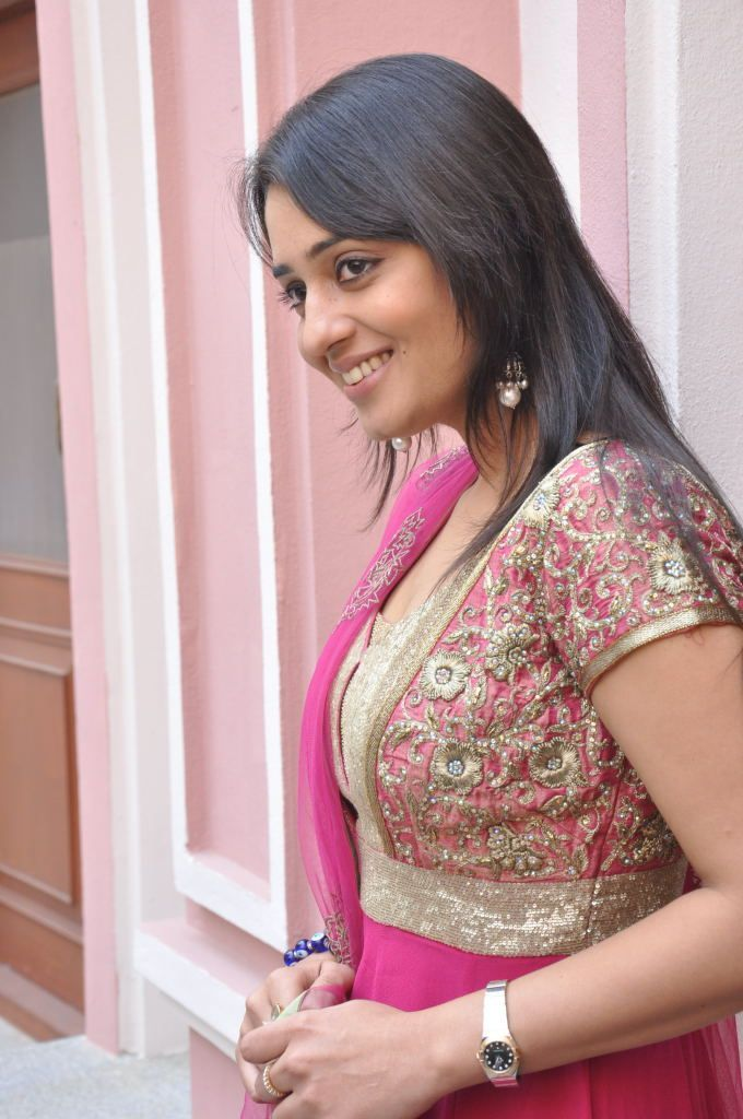 Nikitha Churidar Indian Dress Pics