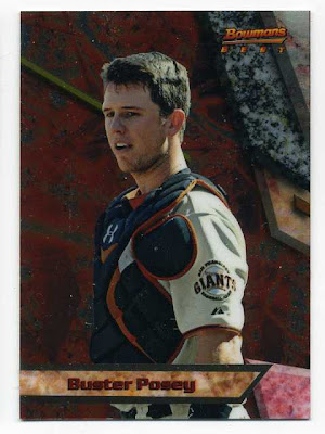2011 Bowmans Best Buster Posey